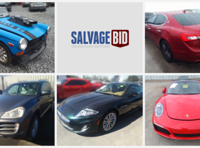 Buy Salvage Exotic Cars