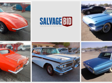 Buy Classic Ford Thunderbird and Chevy Corvette