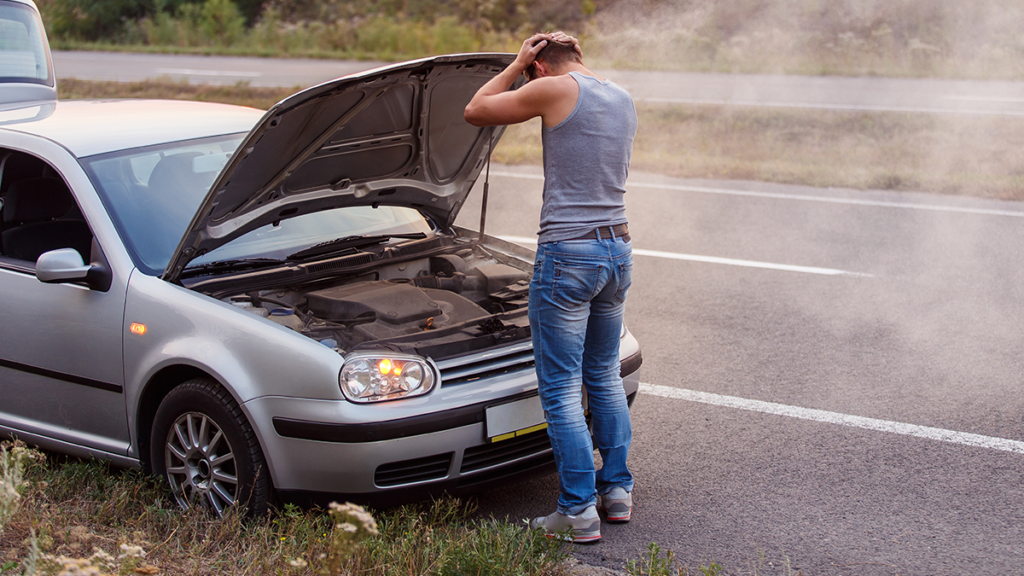 car battery in hot weather