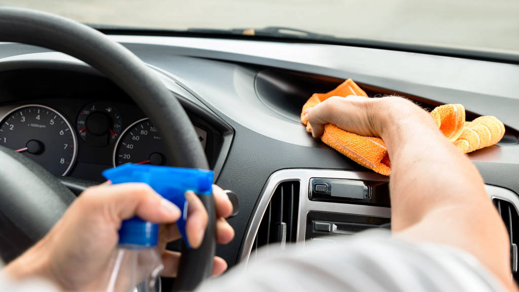 best way to clean the interior of your car