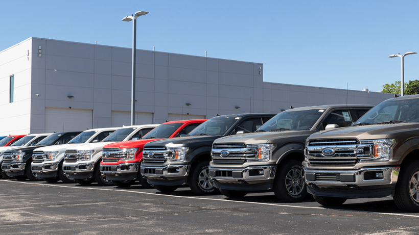 redesigned ford f150