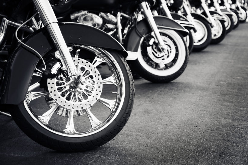 Salvage Motorcycle Auction