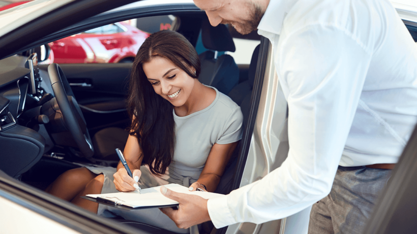 buying a vehicle with a lien